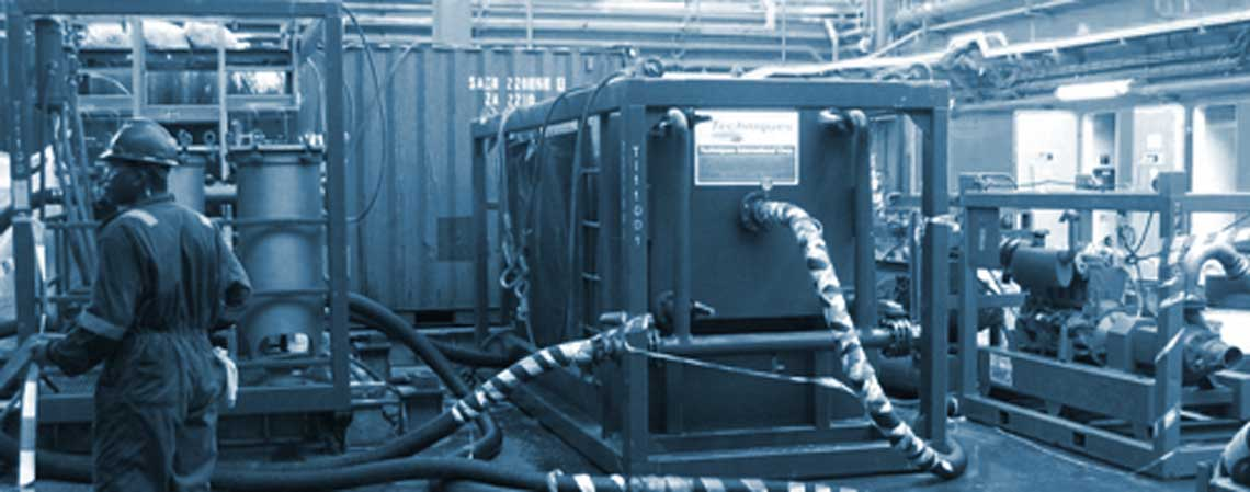brine filtration unit